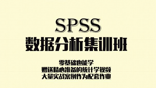 玩转SPSS数据分析——进军咨询行业